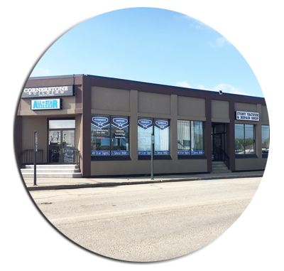 Commercial Buildings Stony Plain
